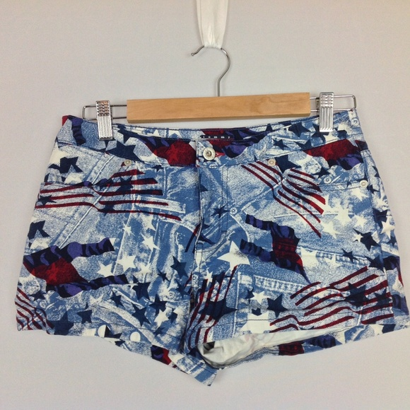 baf0759fbb5603 Tommy Hilfiger Shorts | Womens Junior 7 Stars Stripe | Poshmark